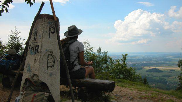 Hiking Poland and Czech Border